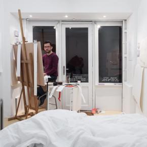Santiago Reyes, Drapé, nuit, 2014, Galerie Nivet-Carzon / La Ferme du Buisson © Émile Ouroumov